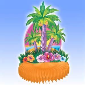 palm tree centerpieces luau centerpieces parties4less net supplies