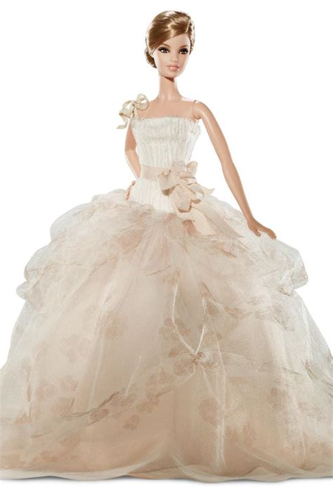 barbie gown design barbie wears all the best designer wedding dresses