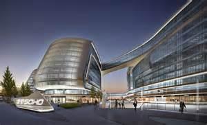 Design Sky Soho In Shanghai China By Zaha Hadid Architects