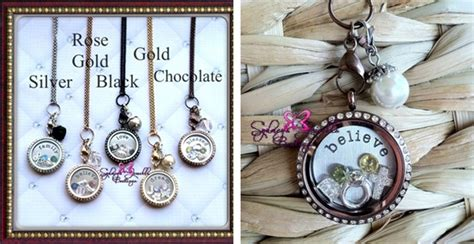 south hill design a locket customized floating locket with chain sted plate five