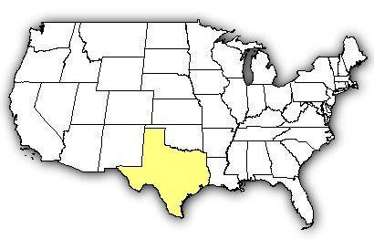 us map texas venombyte venomous spiders texas recluse