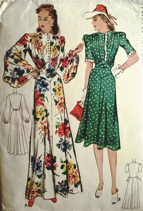 Dress Import 3695 17 best images about patterns on sewing patterns 1940s evening dresses and vintage