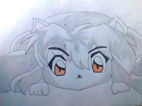 imagenes de inuyasha para dibujar a lapiz dibujos a lapiz de inuyasha imagui