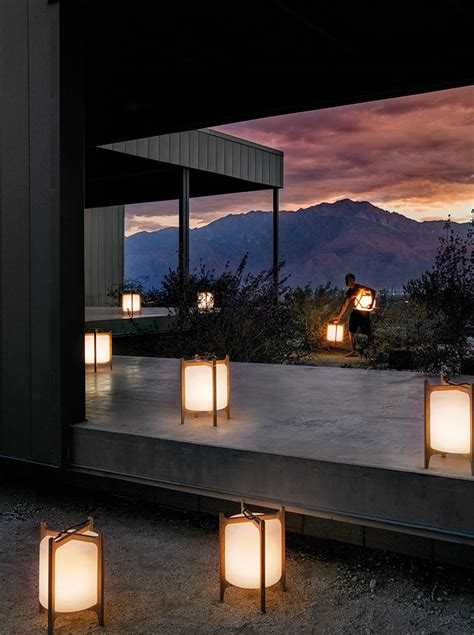 modern simple ambient outdoor lighting by gloster