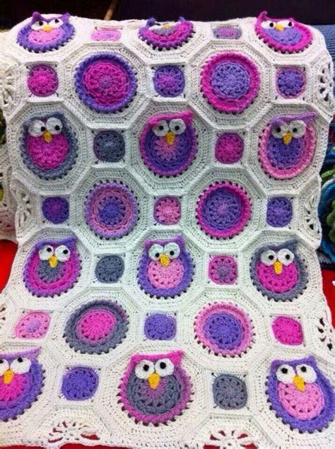 Crochet Owl Blanket Free Pattern by 17 Best Images About Crochet Baby Afghans On