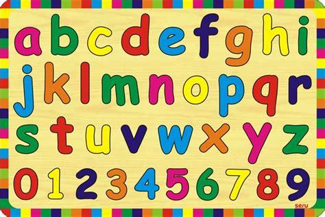 Promo Mainan Puzzle Kayu Huruf Dan Angka puzzle abc huruf kecil dan angka kayu seru