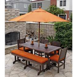 Wooden Patio Dining Sets Kitchen Pine Corner Breakfast Table With Bench Plus Cutlerry Placed On Brown Laminated Wooden