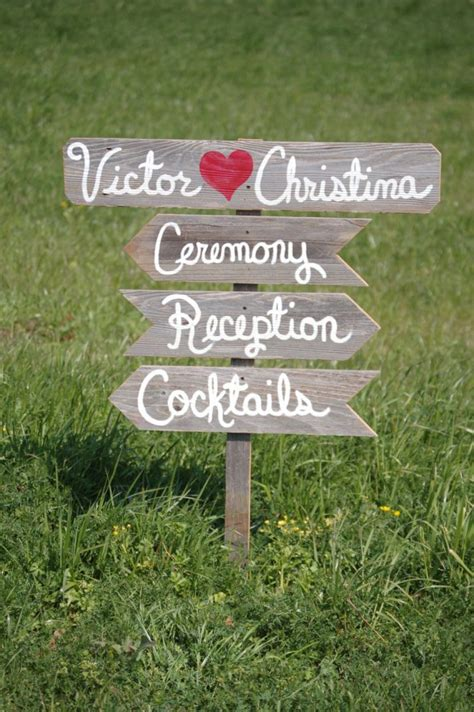Handmade Sign Ideas - awesome wooden wedding sign ideas weddceremony