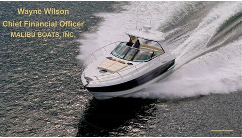 malibu boats wayne wilson malibu boats inc 2018 q1 results earnings call