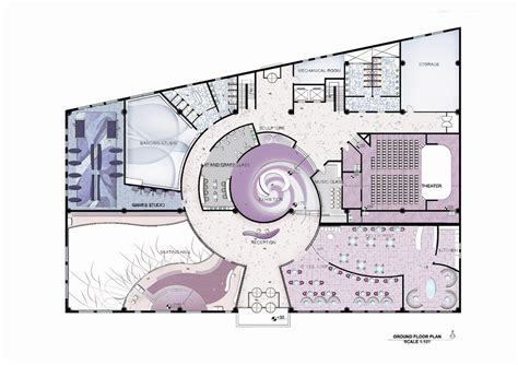 youth center floor plans doaa abdalla s portfolio youth center design