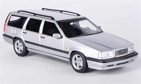 Volvo 850 Estate 1996 White 1 43 Minichs 430171412 New volvo 850 kombi grigio 1996 minichs modellini auto 1 43 comprare sendere modellino auto