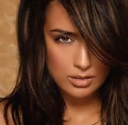 color ideas hair color ideas for brunettes funky with highlights