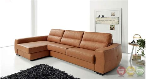 top grain leather sleeper sofa roy reversible top grain leather sectional sleeper sofa in tan