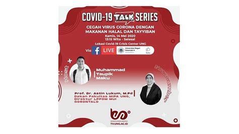 covid  talk series  cegah virus corona  makanan
