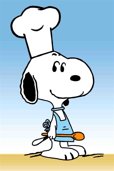 snoopy clipart snoopy the chef clip