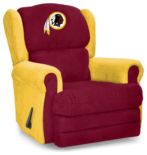 Redskins Recliner by Washington Redskins Coach Recliner