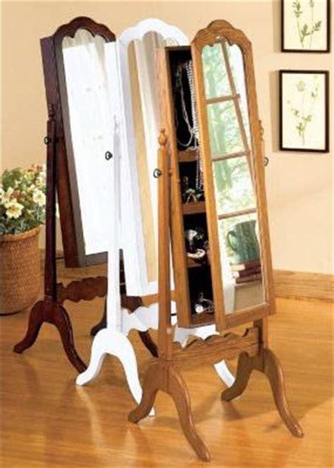 oak standing mirror jewelry armoire locking jewelry armoire cheval mirror jewelry armoire