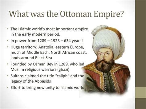 How Did The Ottomans Come To Power Ppt Islamic Empires Powerpoint Presentation Id 1972505