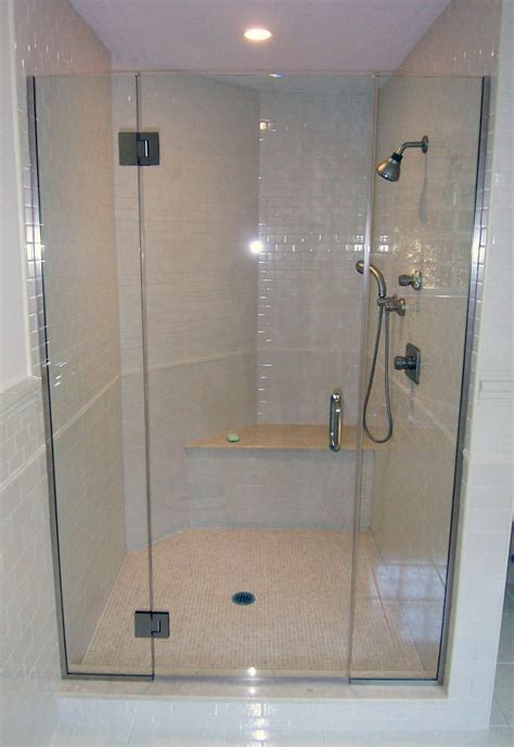 semi frameless shower door cost cost of frameless shower doors home design by