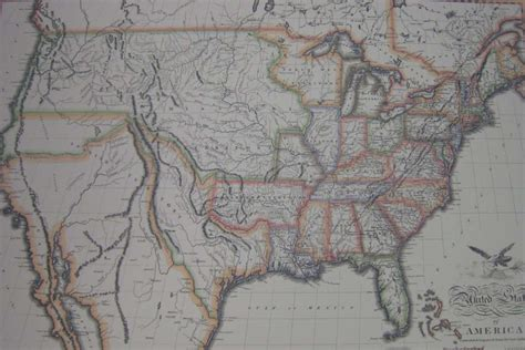 map of united states in 1820 us map 1820