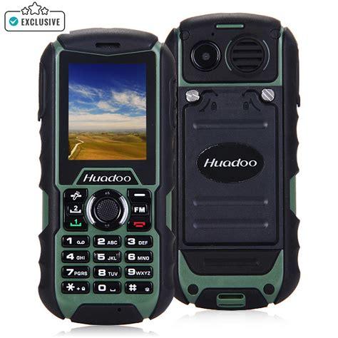 rugged features buy huadoo h1 waterproof shockproof dustproof rugged feature phone green