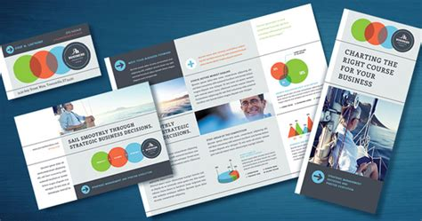 Business Marketing Templates Business Analyst Marketing Material Templates