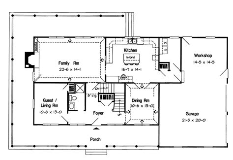 spielberg early american home plan 038d 0029 house plans