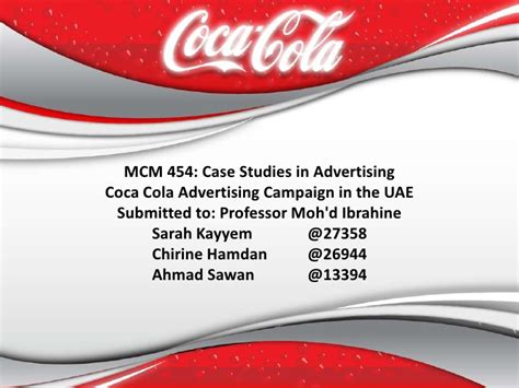 coca cola powerpoint template coca cola presentation