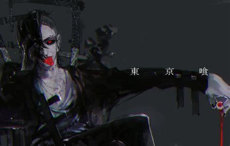 Hd Tokyo Ghoul Iphone Dan Semua Hp 1 обои токийский гуль uta tokyo ghoul красный глаз парень картинки на рабочий стол раздел
