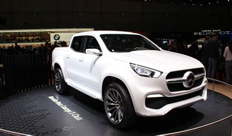 mercedes pickup 2017 mercedes x class concept pick up de luxe vid 233 o en