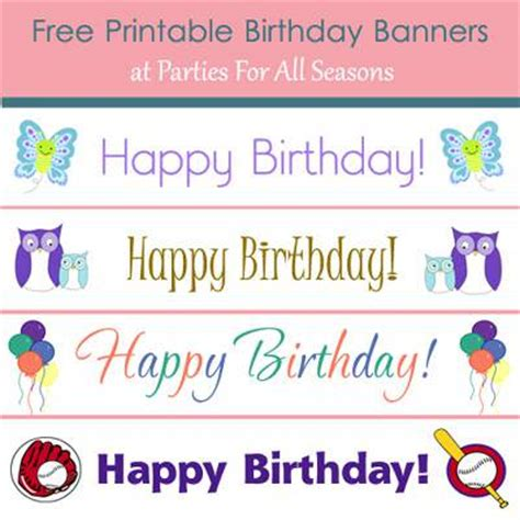 small printable birthday banner banner printable images gallery category page 9 varitty com