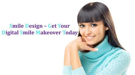 Smile Design Get Your Digital Smile Makeover Today Authorstream Digital Smile Design Powerpoint Template