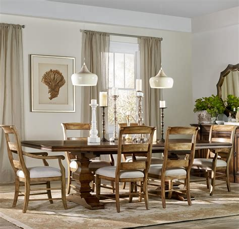 Hooker Dining Room Table Hooker Furniture Archivist 7 Piece Dining Set With