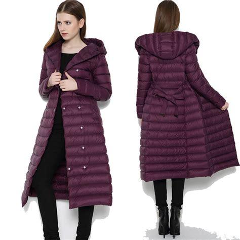 light and warm jacket long women s down coat jacketin