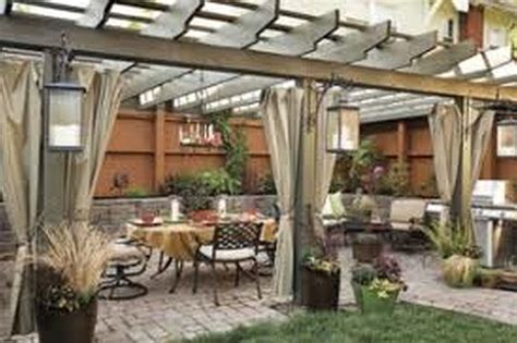 pergola for small backyard outdoor stone patio floor tiles backyard ideas yard clipgoo