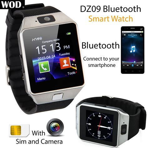 Xs Bluetooth Smart Watches Gsm Dz09 Card For Android Gold 2016 dz09 bluetooth sport smart waist phone gsm sim card for android ebay