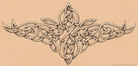 Celtic Knotwork Tattoo By Mossy Tree On Deviantart Celtic Tree Tattoos Designs 3