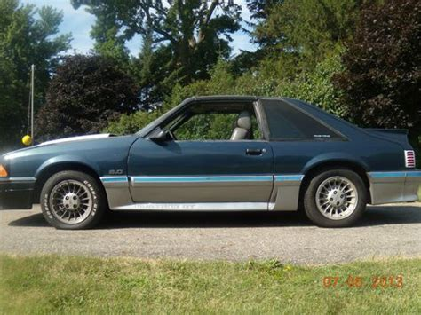 1987 ford mustang gt find used 1987 ford mustang gt t top in waseca minnesota united states