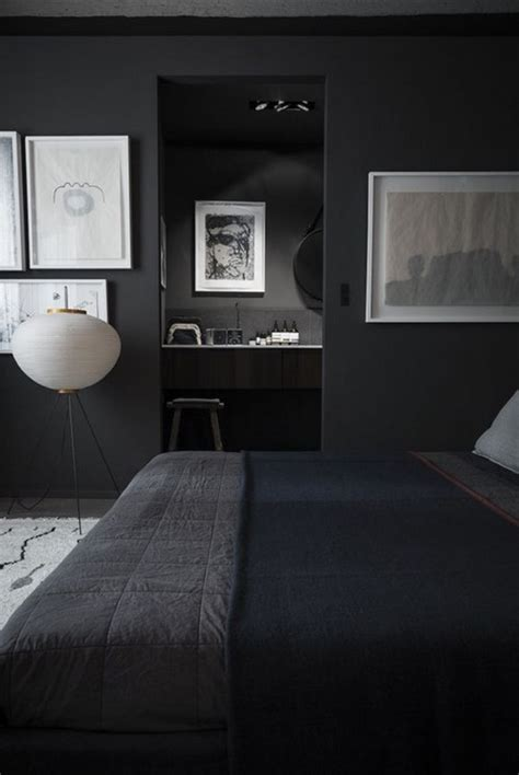 dark gray walls bedroom 22 charcoal grey bedrooms messagenote