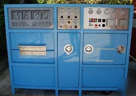 compair mako 5000 psig scba air compressor package