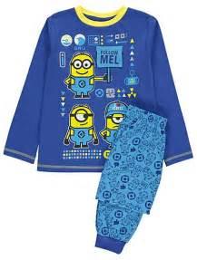 Minions Piyama despicable me 3 minions pyjamas george