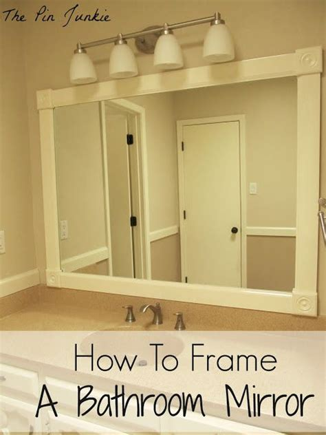 how to frame a bathroom mirror over plastic clips bathroom mirrors frame bathroom mirrors and mirror on