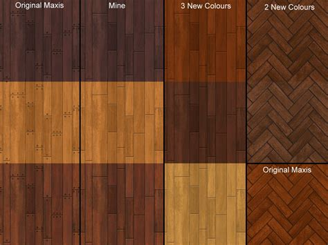 mod the sims apartment wood floors redone d