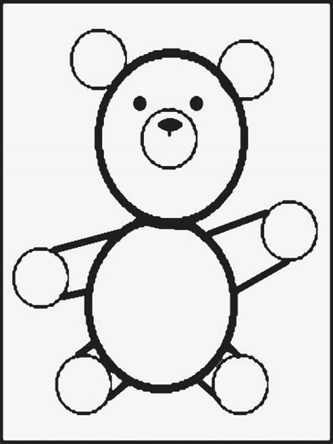 Teddy Outline Images by Teddy Outline Drawing Clipart Best