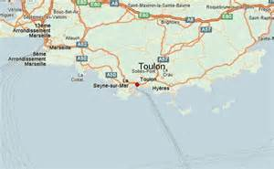 Toulon France Map by Toulon Location Guide