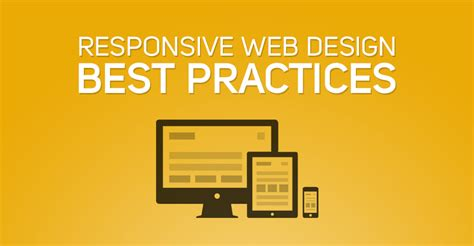 web layout best practices responsive web design best practices web design