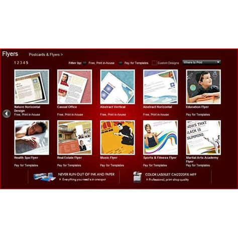 brochure templates hp hp brochure templates hp tri fold brochure paper bright