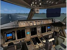 United Airlines Boeing 777-200 for FSX United Airlines 777 Interior