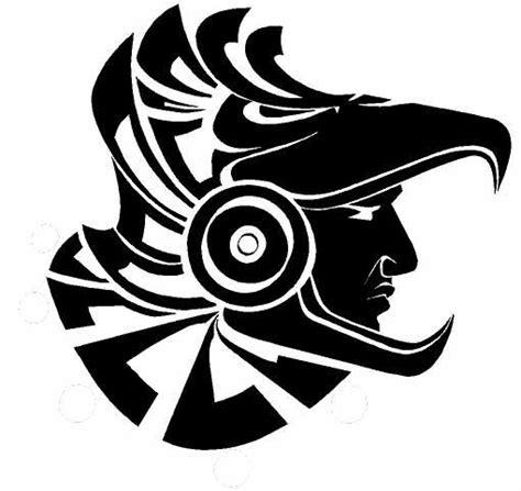 imagenes y simbolos mayas las 25 mejores ideas sobre tatuajes de guerreros aztecas