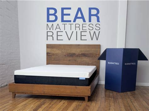 bed in a box coupon bear mattress review a comfortable responsive full